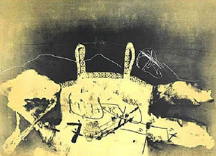 TAPIES : tapies-dentelle-etching