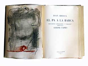 TAPIES : Tapies-barca-book