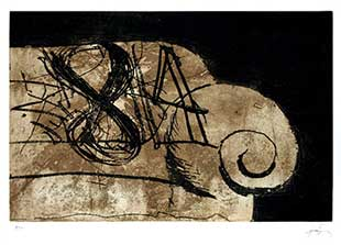 TAPIES : tapies-sofa-etching