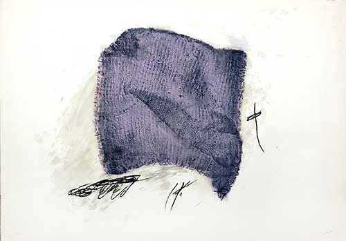TAPIES : serpilliere-tapies-etching