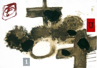 TAPIES : cremades, etching