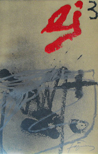 TAPIES : tapies-quotidien-etching