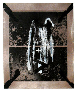 TAPIES : tapies-etching