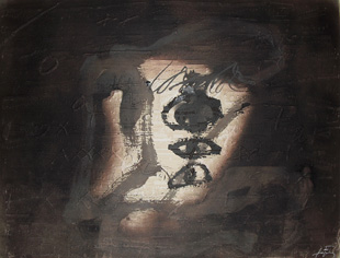 TAPIES : tapies-variation-etching