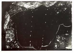 TAPIES : tapies-composition-lithograph
