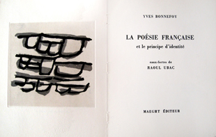 UBAC : poesie, illustrated book
