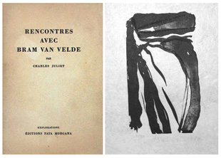 VAN VELDE : rencontre, lithographies