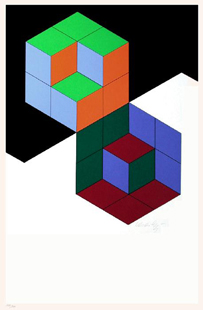 VASARELY : culan-screenprint