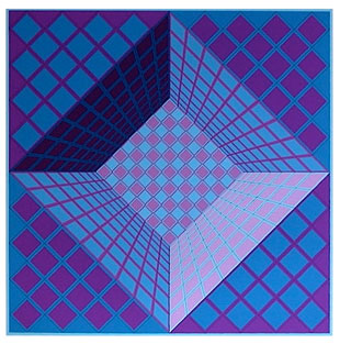 VASARELY : screenprint-vasarely