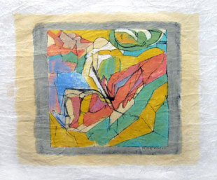 VILLON : Composition, lithographie