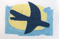 BRAQUE : braque-bird-lithograph