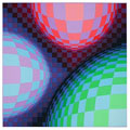 VASARELY : vasarely-lithographie